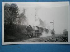 PHOTO  LOCO AD600 GORDON WR 2-10-0 NR SUNNINGDALE 16/4/66