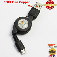 YellowKnife USB 2.0 A TO Micro usb B Retractable Cable Charger+Sync