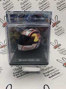 """Die Cast Helmets Moto Gp """" Nicky Hayden - 2006 """" Scale 1/5 Altaya"""