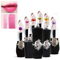 Long Lasting Lip Gloss Flower Lipstick Temperature Color Changing Lip Balm