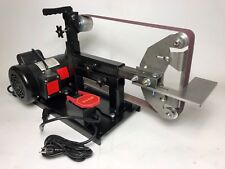 2x72 BELT GRINDER with MOTOR, BASE, TOOL REST & SWITCH