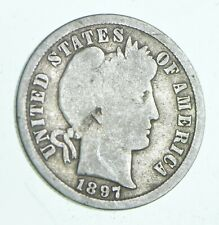 1897-S Barber Dime - Walker Coin Collection *786