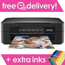 Epson Expression Home XP-235 All-in-One Wireless Inkjet Printer + EXTRA Set Inks