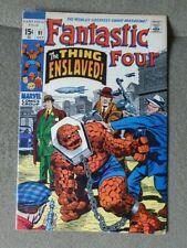 FANTASTIC FOUR # 91 (1969) The Thing  MARVEL COMICS  Near Mint HIGH GRADE CGC IT