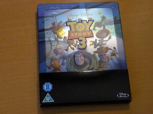 Disney Toy Story 3 Zavvi Exclusive Limited Steelbook [Blu-ray] embossed geprägt