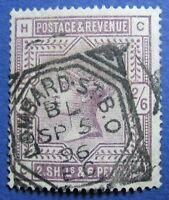1883 GREAT BRITAIN 2S6d SCOTT# 96 S.G.#179 USED                        CS04138