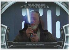 2019 Star Wars Masterwork Defining Moments Foil DM-5 Obi-Wan Kenobi /299