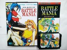 Battle Mania Japanese for Sega MegaDrive Video Game console system MD card