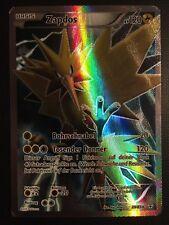 Pokemon!! Zapdos Generationen 29/83! Full Art! Holo Rare! EX! DE!