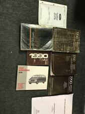 1990 Ford Ranger Aerostar Service Shop Reparatur Werkstatt Manuell Set W Ewd