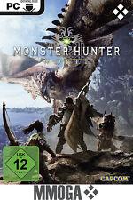 Monster Hunter: World - PC Steam Download Key - Pre-Order Version [DE/EU]