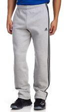 Brand New Adidas Pants ESS 3S R PNT FL CE9493 Gray/ Black Men's Size XL $45