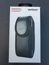 "Verizon Universal Rugged Pouch Case/Clip for Smartphones Up to 5.5"" - Black NEW"