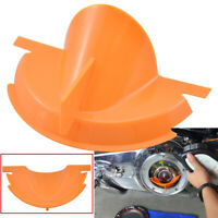 Parts Orange Primary Case Oil Fill Funnel For Harley Dyna Softail Fat Bob FXDF