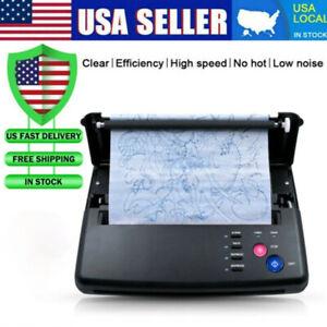 Tattoo Thermal Stencil Maker Tattoo Transfer Copier Printer Machine A4 Paper US
