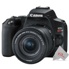 Canon Eos Rebel Sl3 Dslr Camera with Ef-S 18-55mm f/4-5.6 Is Stm Lens (Black)