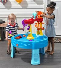 Kids Playing Water Table with Accessories Step 2 Archway Falls Outdoor Fun New