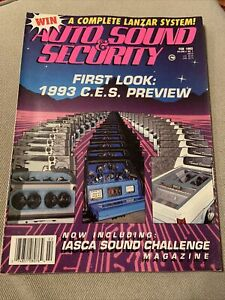 Auto Sound & Security Magazine February 1993