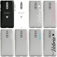 DYEFOR PERSONALISED HANDWRITTEN NAMES CUSTOM WEDDING PHONE CASE COVER FOR NOKIA