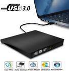 USB 3.0 External CD DVD RW Writer Slim Drive Burner Reader Player For Laptop PC