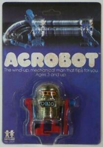 ⭐ 1978 TOMY ACROBOT Robot ~ BRAND NEW in Blister Pack ⭐