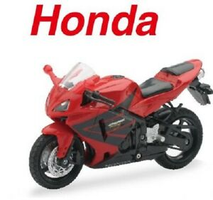 New Ray Toys 1/18 Scale Motorcycles Diecast Model Honda CBR 600 Motorbikes Model