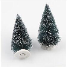 Green Snow Mini Table Desk Christmas Tree XMAS Decorations Ornaments