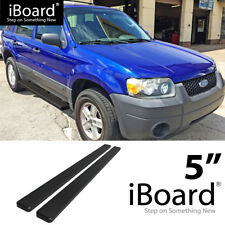 Running Board Side Step Nerf Bars 5in Black Fit Ford Escape 01-07