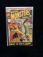 Where Monsters Dwell #16 Marvel Comics