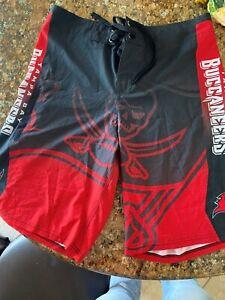 Tampa Bay Buccaneers Beach Shorts Mens Summer Swim Trunks Casual Board Shorts
