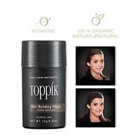 TOPPIK Hair Building Fibers, Dark Brown, 0.42 oz.