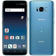 New Docomo Galaxy S8 SC-02J Coral Blue Android Smartphone Unlocked F/S