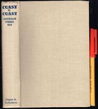 COAST TO COAST 1943 Australian Stories EC Hardcover ORIGINALS or The Bulletin