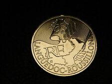 TRES  BELLE PIECE DE  10 EUROS DES REGONS 2010 LANGUEDOC ROUSSILLON