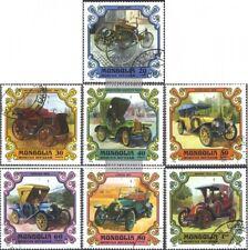 Mongolia 1328-1334 (edición completa) usado 1980 viejos coches