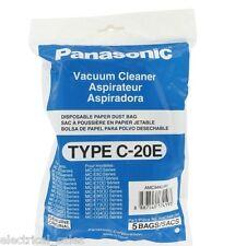 GENUINE PANASONIC C20E MCE7000 RANGE CYLINDER DUST BAGS AMC94KUW0