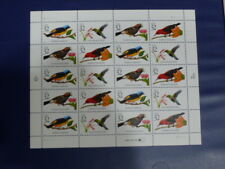 United States Scott 3222 the Tropical Birds sheet of 20 mint, nh.