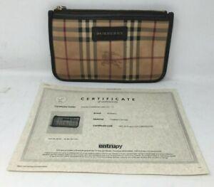Burberry Cosmetic Bag w. COA