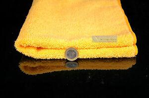 Poliertuch 4 x Profi UltraOrange Towel, Poliertuch, Microfasertuch