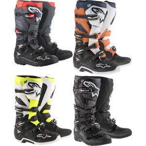 2019 Adult Alpinestars Tech 7  Enduro Offroad ATV  Boots - Pick Size/Color