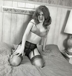 1960s Ron Vogel Negative-sexy pinup girl Shari Marr-cheesecake v200190