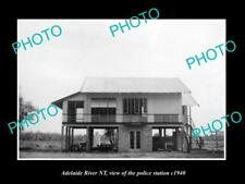 OLD LARGE HISTORIC PHOTO OF ADELAIDE RIVER NORTHERN TERRITORY POLICE STATION 194