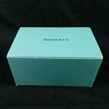 """Vintage TIFFANY & CO. Large Empty Box 14""""x9""""x7.5"""" Shoes, Vase, Crystal, etc."""