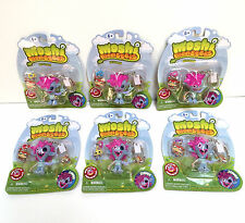 New 6 PACKS Moshi Monsters Keychain ZOMMER w charm party favors gift bag stuffer
