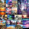 Landschaft DIY Öl Acryl Malerei Set Malen Nach Nummern Erwachsene Kinder