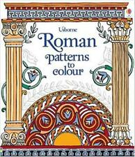 Roman patters to colour  - New Colouring Activity Book by Usborne