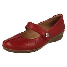 Scarpe da donna Mary Jane rosso casual