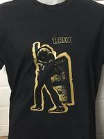 T-REX ELECTRIC WARRIOR BLACK SHIRT marc bolan glam Trex