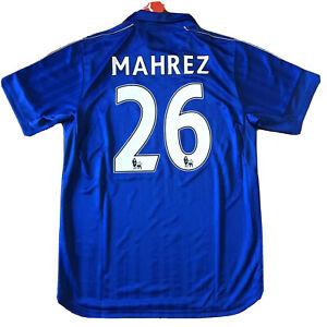 2016/17 Leicester City Home Jersey #26 Mahrez Large Puma Soccer Algeria NEW