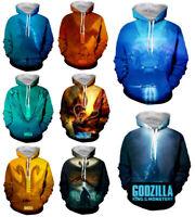 New Godzilla:King of the Monsters 3D Print Mens Women hoodies Sweater Sweatshirt